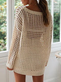 Micasahi Casual Hollow Out Sweater