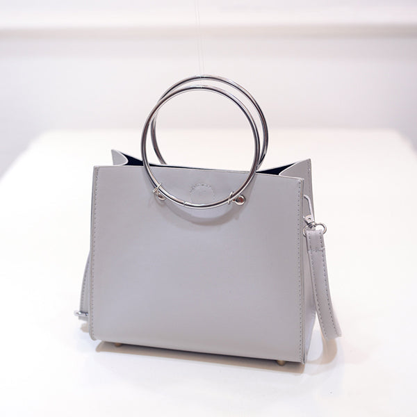 Micasahi Fashion Stylish Ring PU Handbag