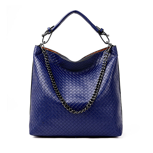 Micasahi Lingge Chain Bucket Shoulder Bag