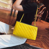 Micasahi Fashion Rhombic Chain Bag Women's Handbag