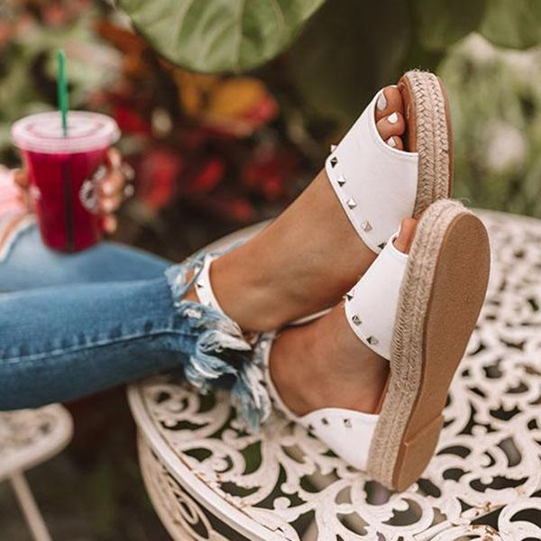 Micasahi Trendy The Hartley Espadrille Sandals
