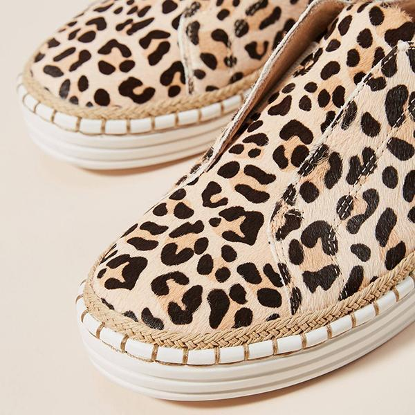 Micasahi Hot Sale Leopard Sneakers (Ship in 24 Hours)