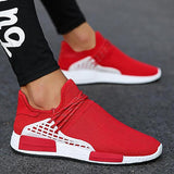 Micasahi Fashion Design Breathable Air Mesh Slip On Sock Sneakers