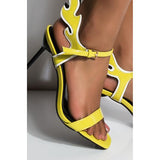 Micasahi Stay Lit Stiletto Heeled Sandals