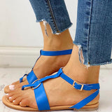 Micasahi Toe Post Casual Flat Sandals