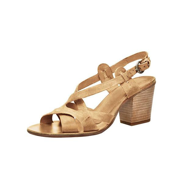 Micasahi Women Vintage Chunky Heel Pumps Casual Sandals