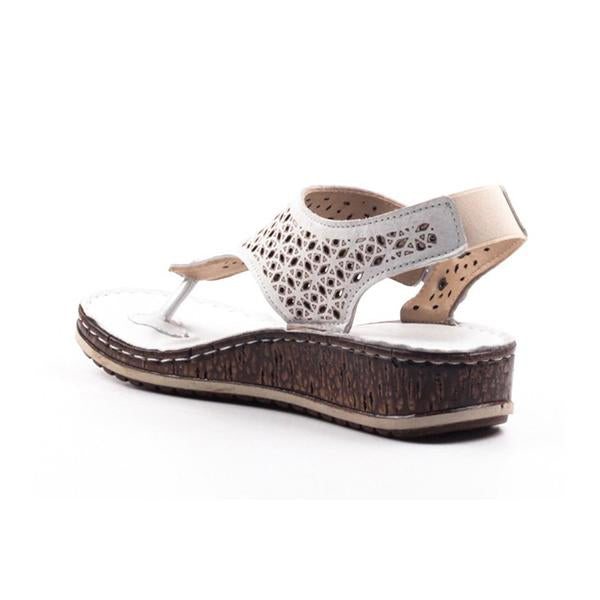Micasahi Women Casual Hollow Out Wedge Sandals