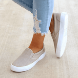 Micasahi Slip On Running Flat Sneakers
