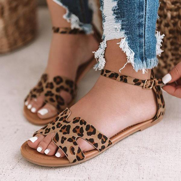 Micasahi Stylish Daily Low Heel Sandals
