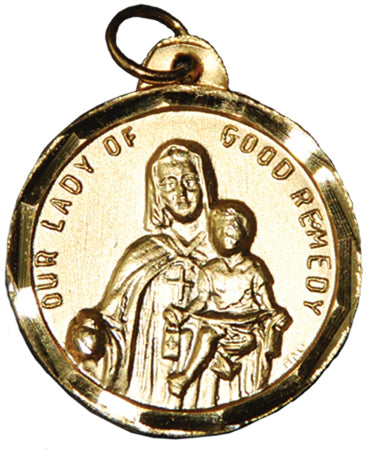Our Lady of Good Remedy / St. Michael of the Saints Medal