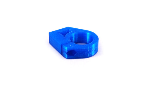 Radiator hose mount - Blue