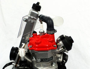 Rotax Max overflow bottle and gearbox breather kit - Translucent