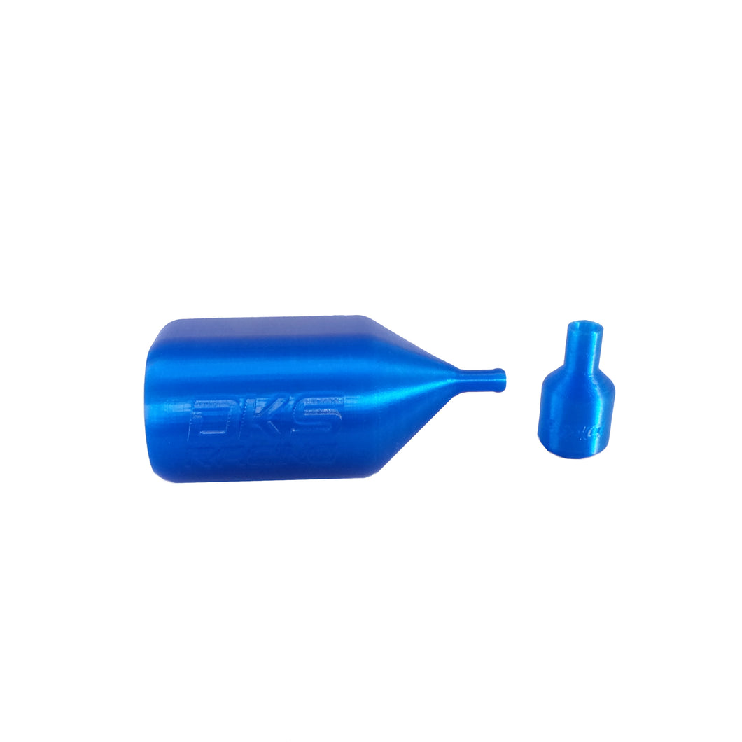 Rotax Max overflow bottle and gearbox breather kit - Blue
