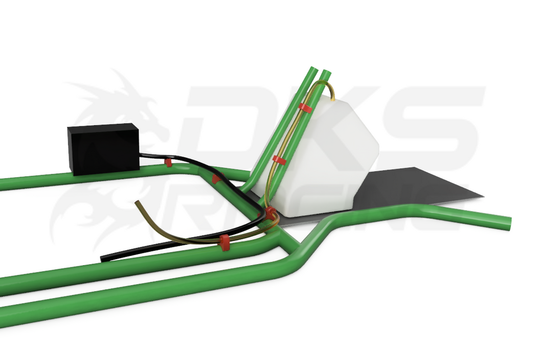 Fuel line fitting kit for KA100 X30 Rotax