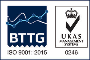 BTTG ISO 9001:2015 UKAS Management Systems 0246