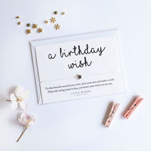 Load image into Gallery viewer, Birthday 'Make a Wish' Bracelet