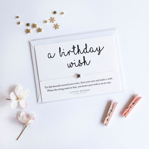 Birthday 'Make a Wish' Bracelet