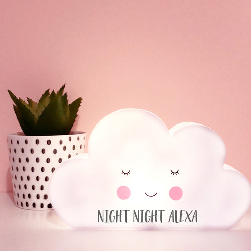 Personalised Cloud Night Light