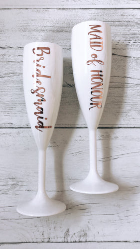 Maid of Honour Prosecco Champagne Flute