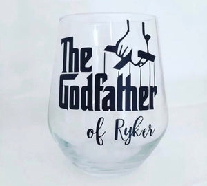 'Godfather' Whisky Glass