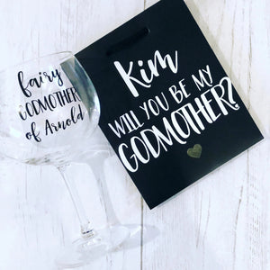 Fairy Godmother Gin Goblet