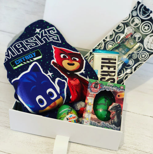 Kids personalised 'sleepover' box