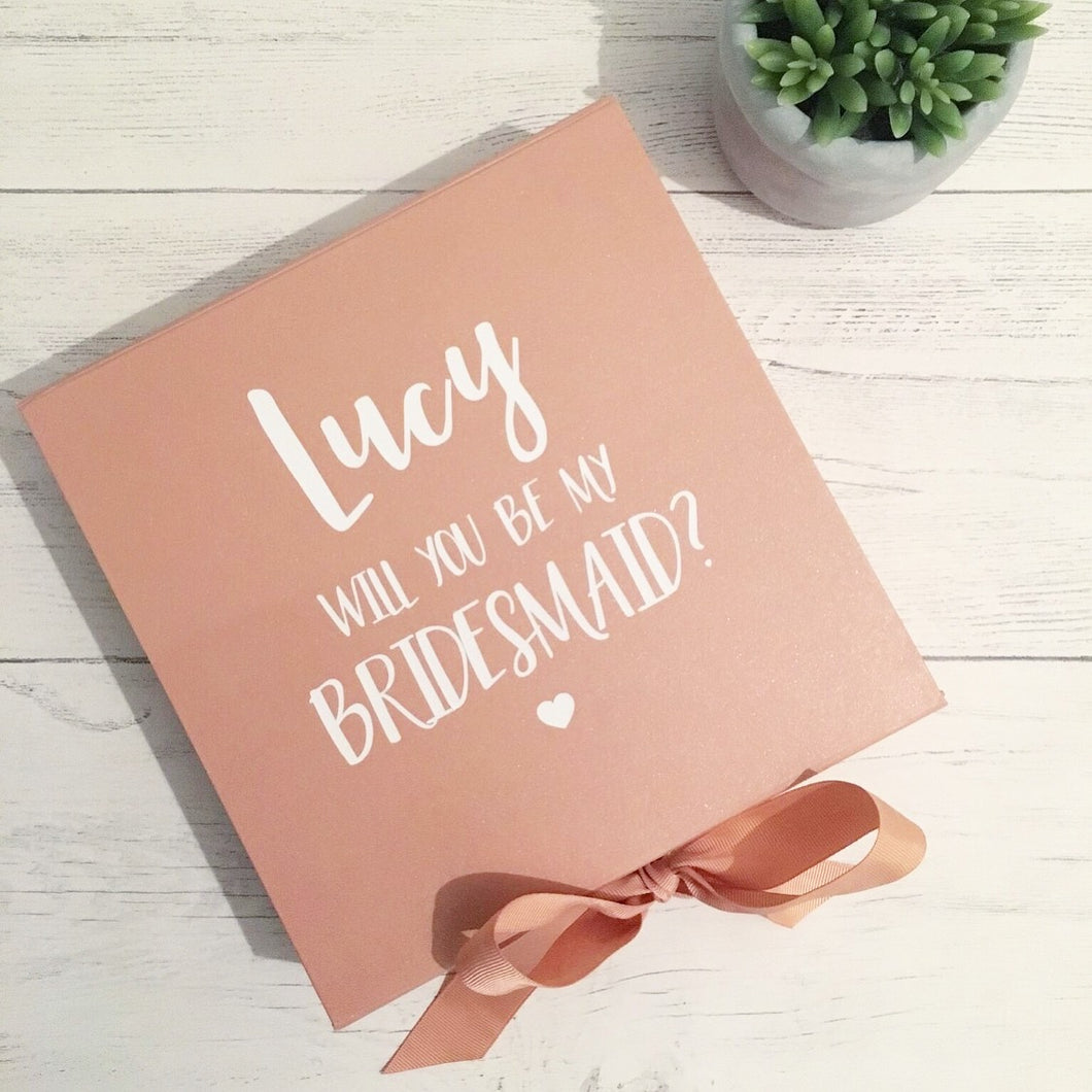 Medium Bridesmaid Proposal Box