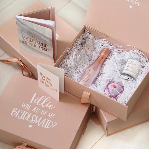 PACK OF 4 - Bridesmaid Proposal Boxes