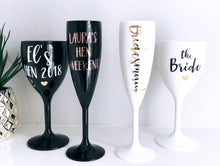 Load image into Gallery viewer, Bridesmaid Personalised Wine Glass