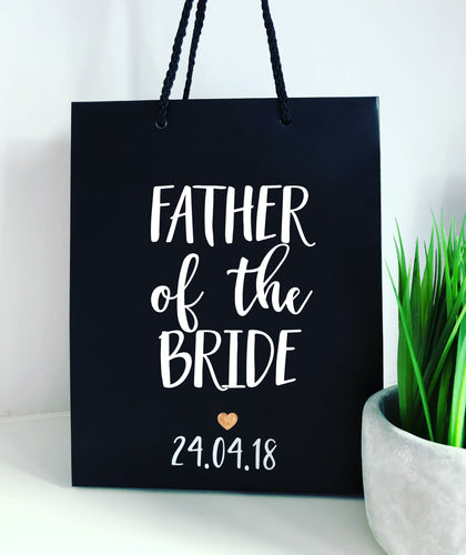 Small Matte Personalised Gift Bag