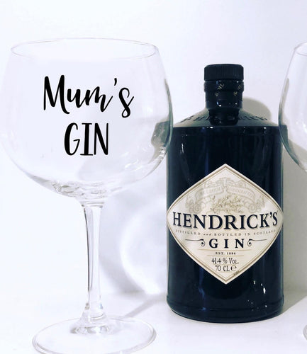 Mother's Day Gin Goblet