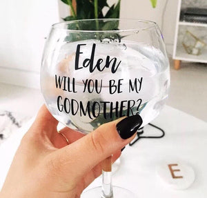 Personalised  Gin Goblet