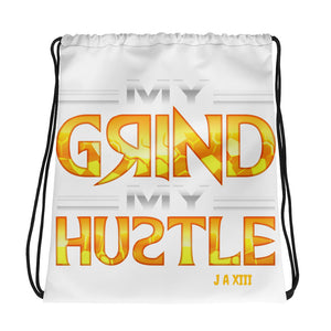 JohnAlex XIII  My Grind My Hustle Drawstring bag