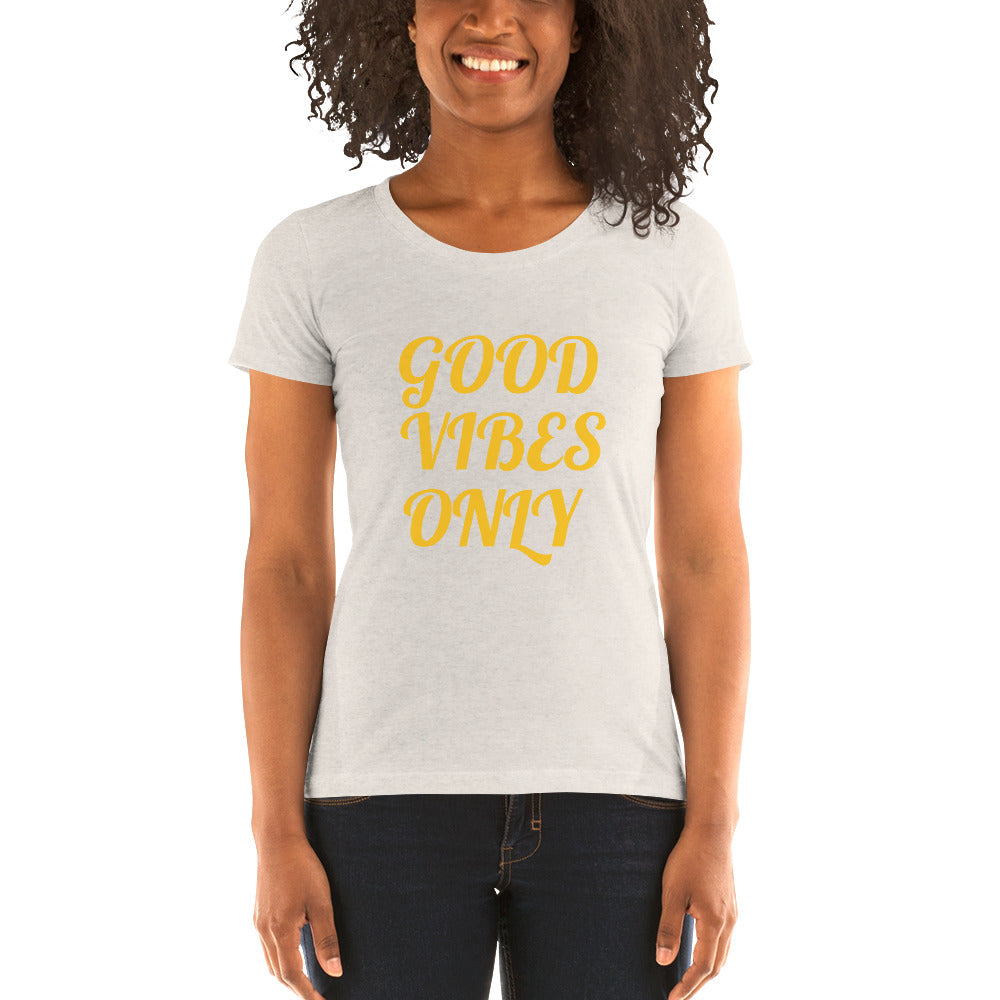 """GOOD VIBES ONLY"" LADIES TEE JohnAlex XIII"