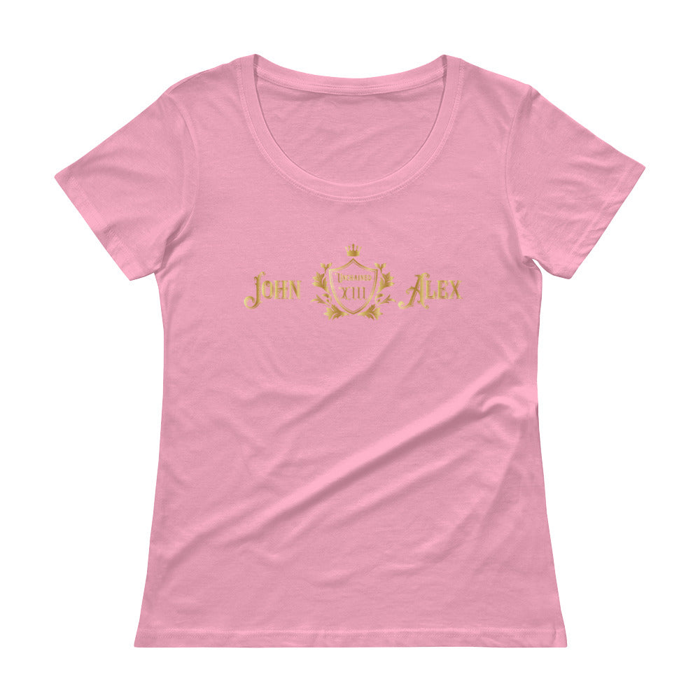 JohnAlex XIII  Womens Scoopneck T-Shirt