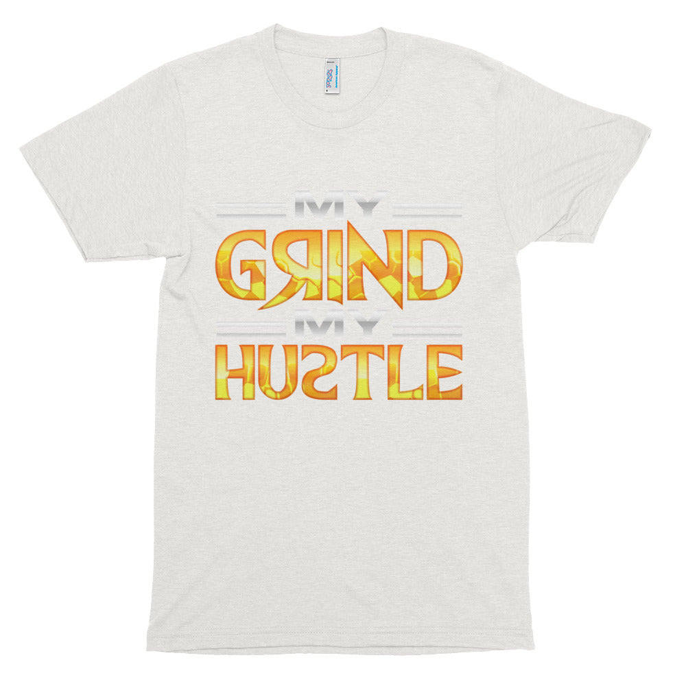 JohnAlex XIII My G@ind My Hu@tle Track sleeve t-shirt
