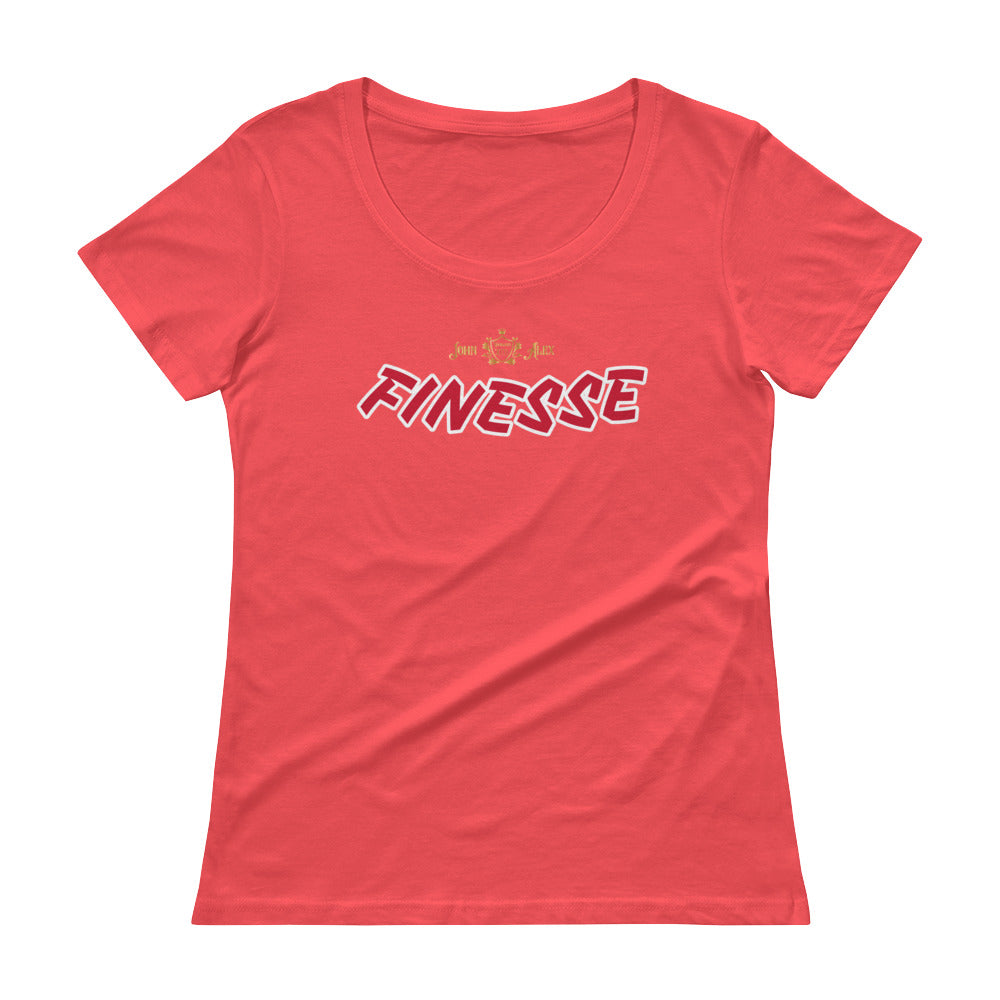 FINESSE JohnAlex XIII Ladies' Scoopneck T-Shirt