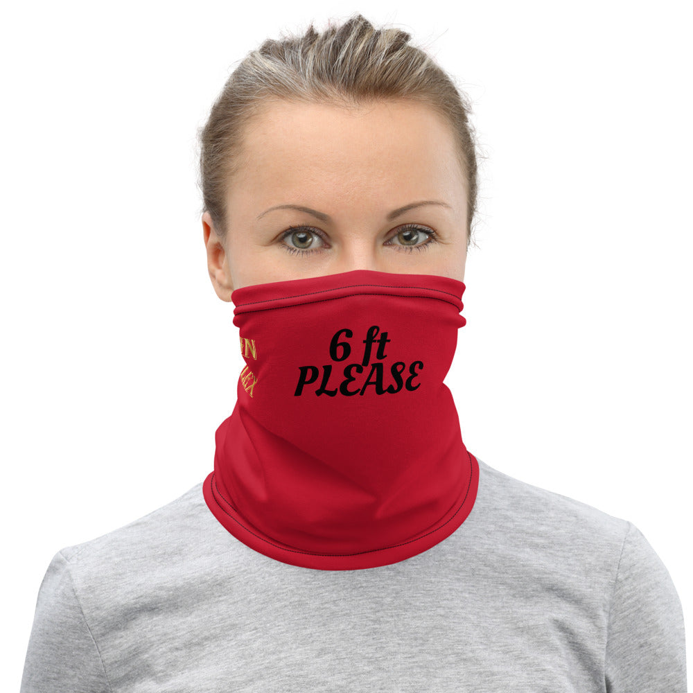 '6 ft Please' JohnAlex XIII  Face Mask Neck Gaiter