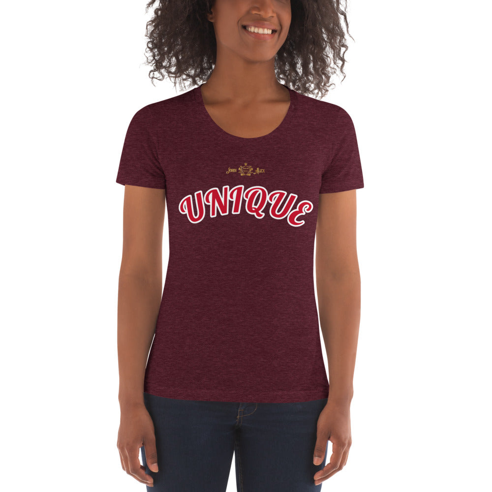 UNIQUE JohnAlex Women's Crew Neck T-shirt