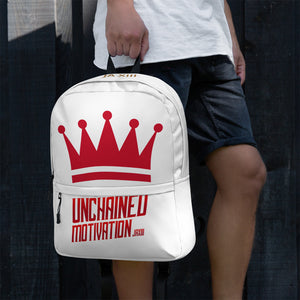 "JohnAlex XIII  ""UnChnd Motivation"" Print Backpack"