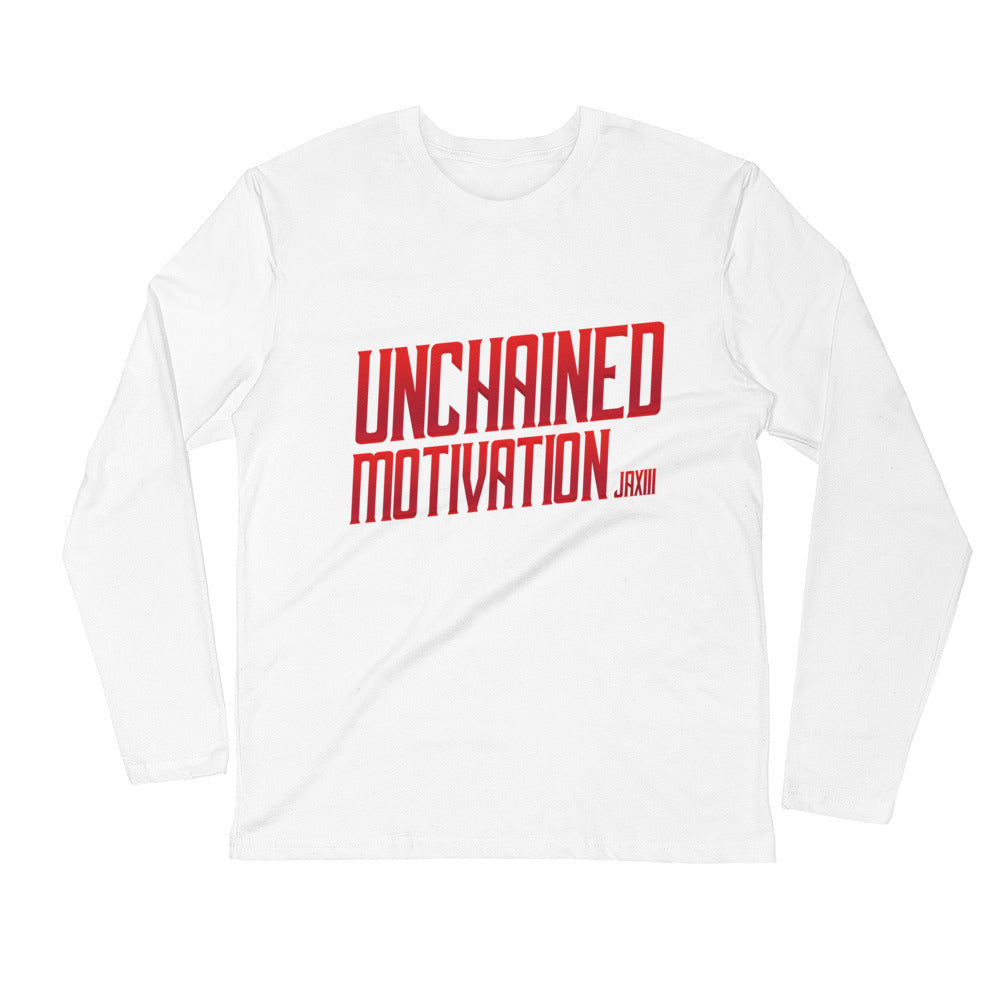 "JA XIII ""UnChnd Motivation"" Long Sleeve Fitted Crew"