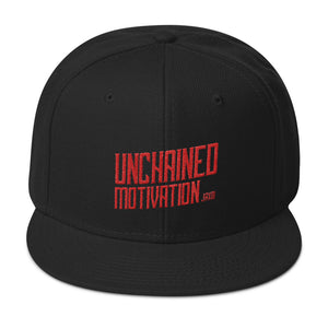 "Snapback Hat  JohnAlex XIII ""UnChnd Motivation"""