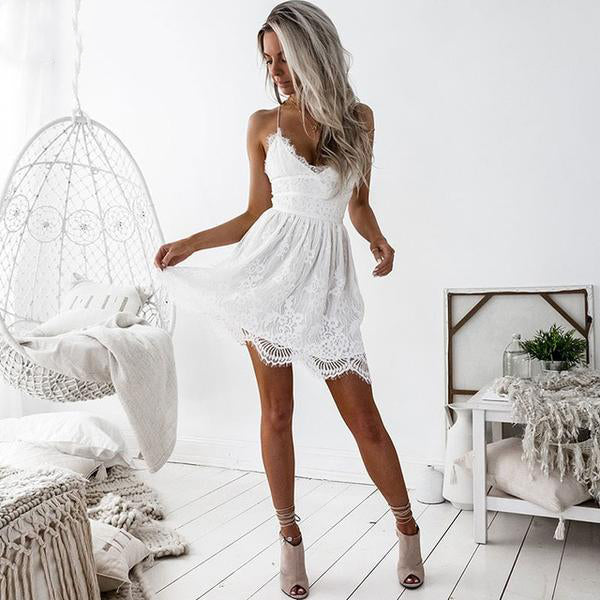 COCKTAIL TIME LACE DRESS