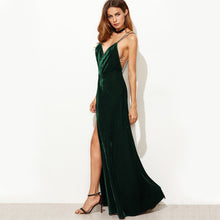 Load image into Gallery viewer, THE TRUTH VELVET MAXI DRESS