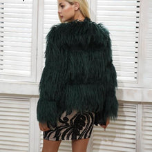 Load image into Gallery viewer, ON MY MIND FAUX FUR COAT