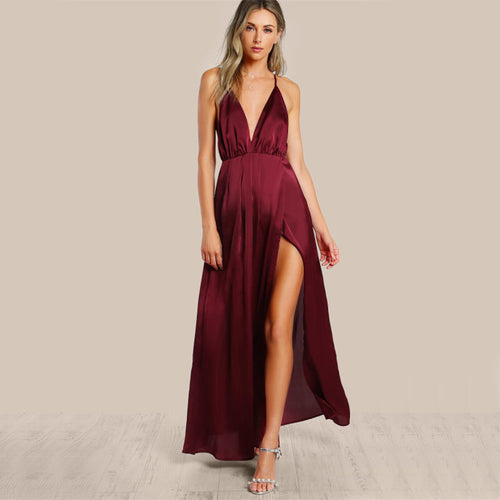 TWO'S A CROWD MAXI DRESS