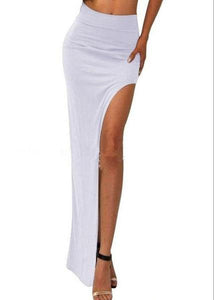 CUT YOU OFF SPLIT MAXI SKIRT