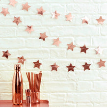Load image into Gallery viewer, ROSE GOLD PARTY DECORATION