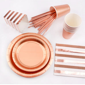 ROSE GOLD PARTY DECORATION