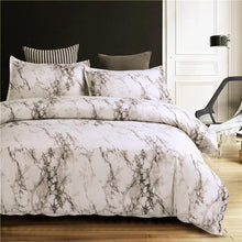 Load image into Gallery viewer, MARBLE DUVET COVER SET